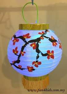 DIY Chinese New Year lantern