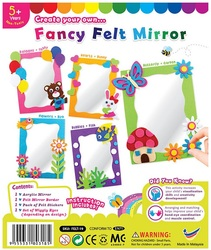 Fancy Felt Mirror Kit