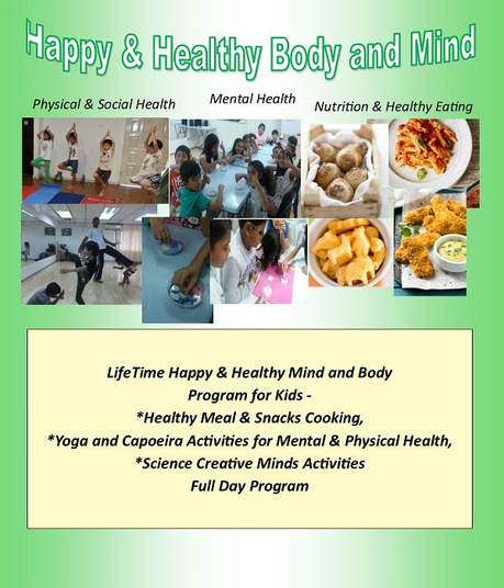 happy & healthy body and mind holiday program