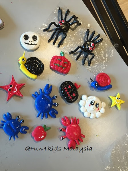 Halloween Character Clay Magnet