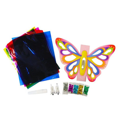 LED Wall Deco Kit - My Little Butterfly