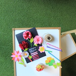mothers day flower craft
