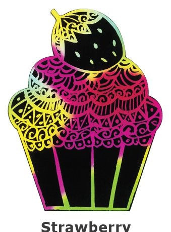 Scratch Art Cupcake Kit