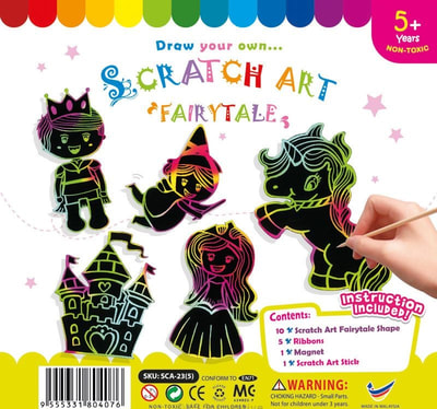 Scratch Art Fairytale Kit