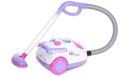 Battery operated vacuum cleaner