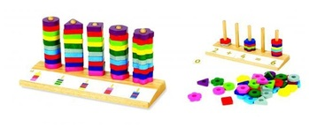 Countegory wooden educational toy