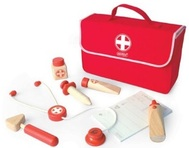 Wooden Doctor Play Set