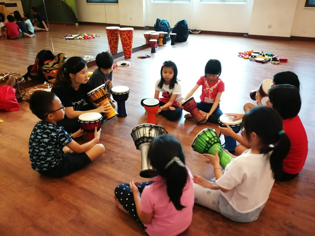 circle drum play class