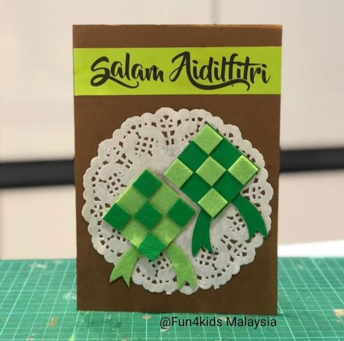 hari raya greeting card