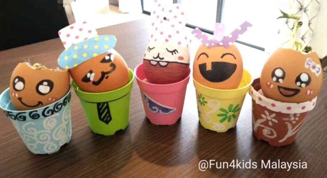 Egg shell craft