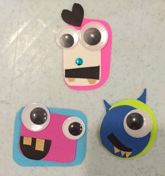 monster craft badge