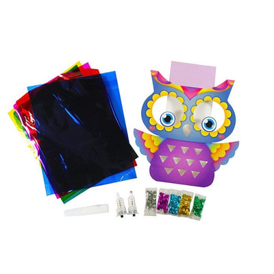 LED Wall Deco Kit - My Little Owl