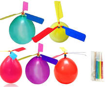 diy science balloon helicopter