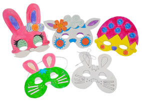 easter mask coloring kit