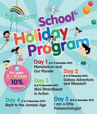 Science holiday camp