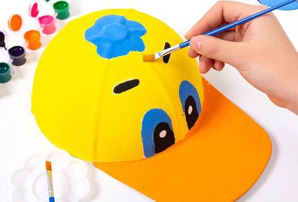 Paper Cap Painting Kit